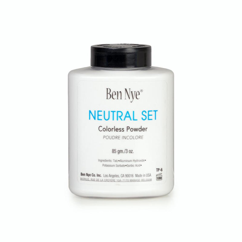 alt Ben Nye Neutral Set Colorless Face Powder 3.0 oz (TP-6)