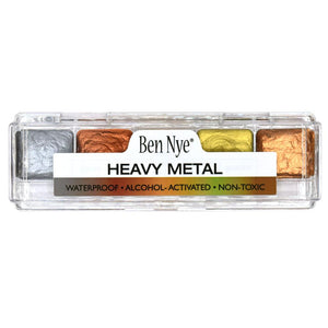 alt Ben Nye Alcohol Activated Heavy Metal Palette (AAP-31)