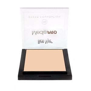 alt Ben Nye MediaPRO HD Sheer Foundation Alabaster (HD-206)