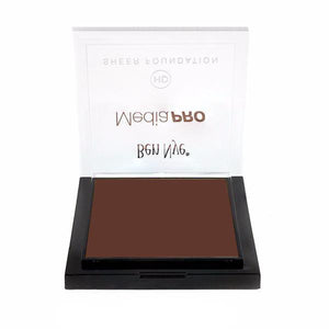alt Ben Nye MediaPRO HD Sheer Foundation Dark Chocolate (HD-928)