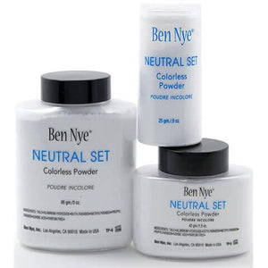 alt Ben Nye Neutral Set Colorless Face Powder