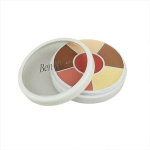 alt Ben Nye Creme Contour & Blush Wheels CBW-1 Light