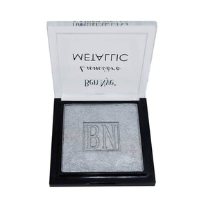 alt Ben Nye Lumiere Metallic Powder MLU-3 Silver