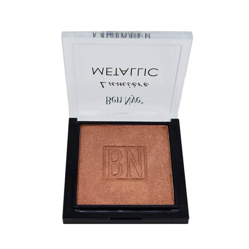 alt Ben Nye Lumiere Metallic Powder MLU-7 Copper