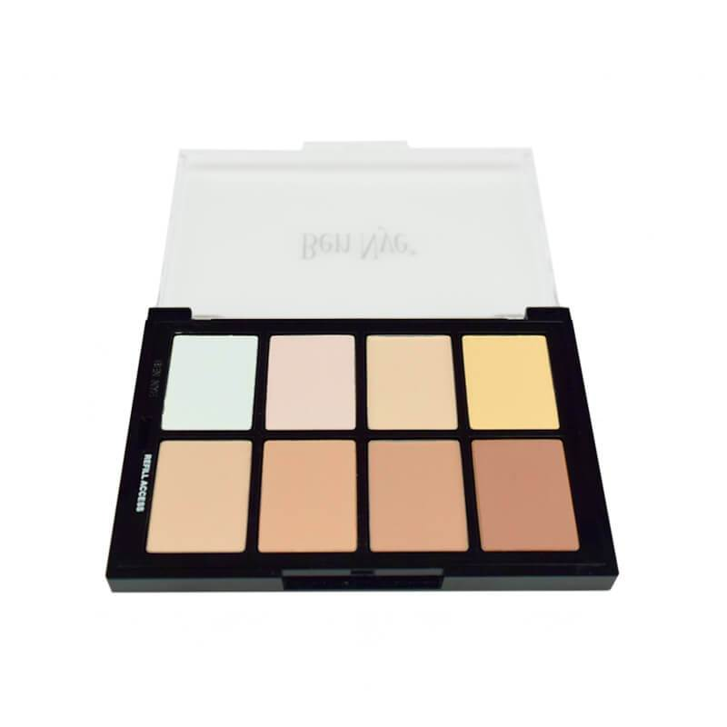 alt Ben Nye Studio Color Pressed Powder Palettes Light-Medium (STP-53)