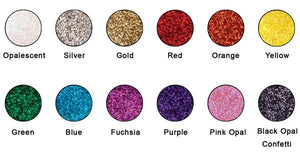Graftobian Glitter Powder - 12 Color Stacker #1