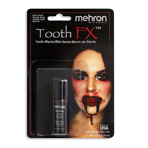 alt Mehron Tooth FX Special Effects Tooth Paint Blood Red (Tooth SFX)