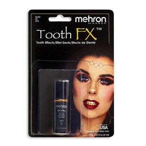 alt Mehron Tooth FX Special Effects Tooth Paint Gold (Tooth SFX)