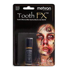 alt Mehron Tooth FX Special Effects Tooth Paint Nicotine/Decay (Tooth SFX)