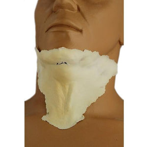 alt Rubber Wear Double Chin Foam Latex Prosthetic