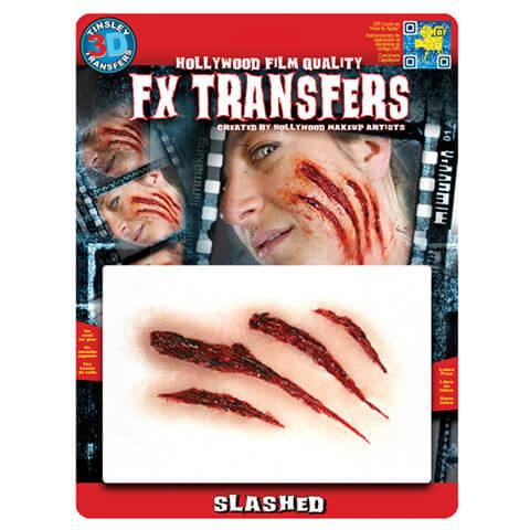 alt Tinsley Transfers - Slashed Flesh - 3D FX Transfers Medium