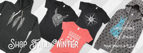fall and winter hoodies and shirts form naturwrk