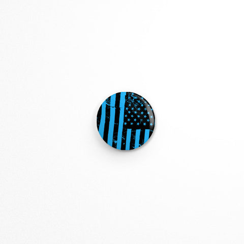 American Flag Button