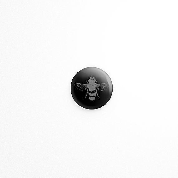 bee button