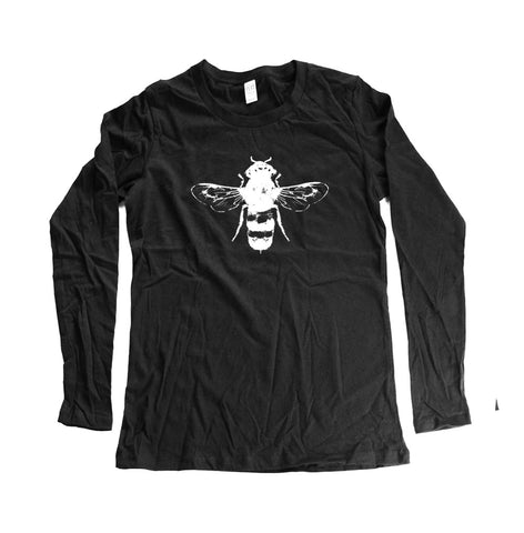 Organic Long Sleeve Bee Shirt