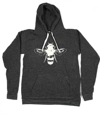Unisex Honey Bee Eco-Fleece Hoodie