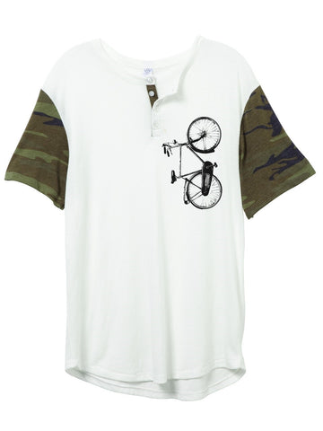 Camo Sleeve Bike Shirt