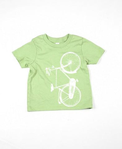 Kids Green Bike Shirt