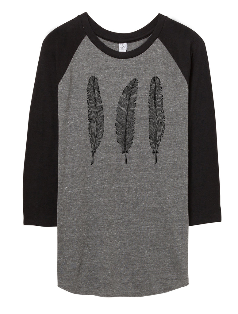 feathers baseball shirt