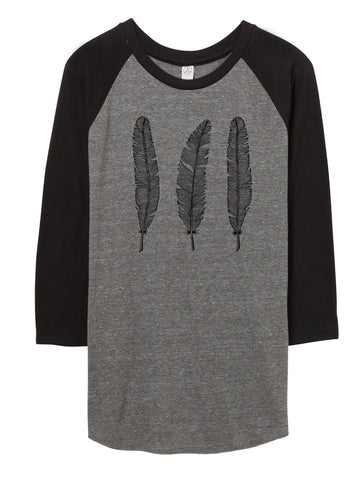 Unisex Feather Baseball Shirt