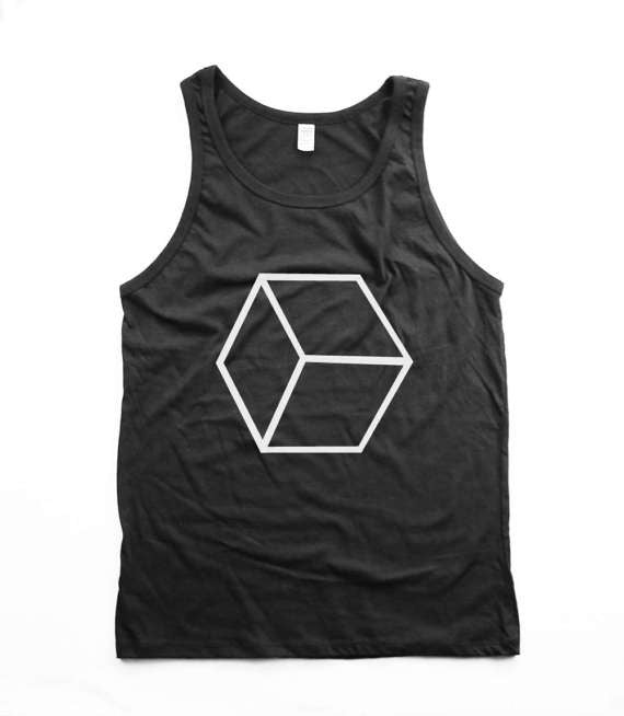 organic honeycomb tank top