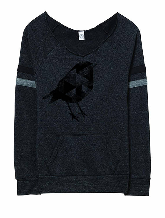 Geometric Bird Sweater