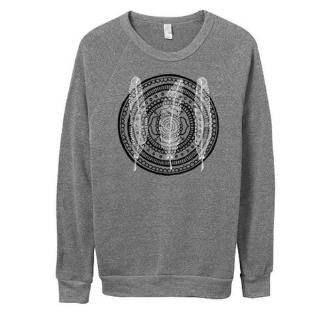 LIMITED EDITION Feathers Mandala Unisex Sweater