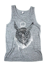 LIMITED EDITION Owl Anchor Unisex Tank Top