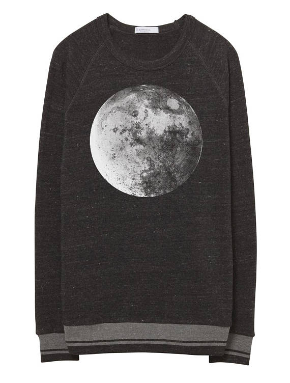 mens moon sweater