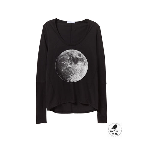 Womens Long sleeve Moon