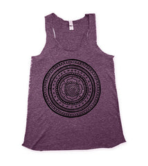 purple mandala tank