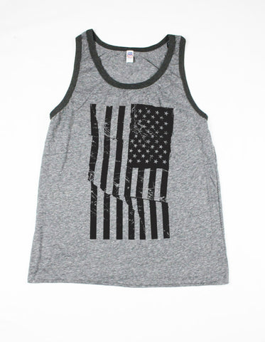 Mens American Flag Tank Top