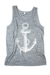 Mens Anchor Tank Top