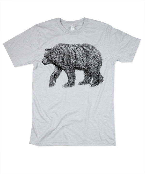 Mens California Bear Tshirt