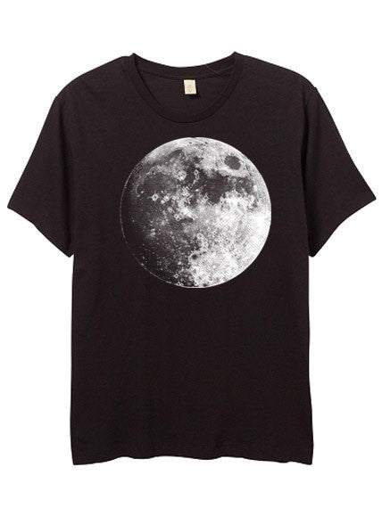 Men's Black Moon Tshirt