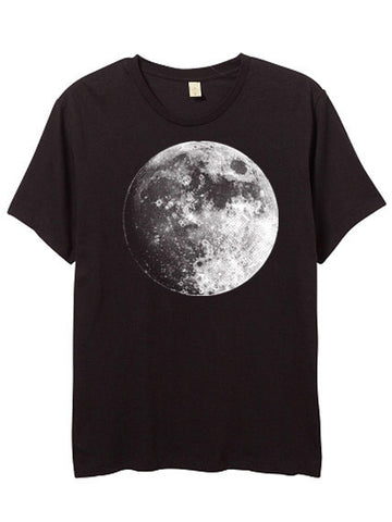 Mens Black Moon Tshirt