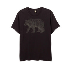 Men's Black California Bear Tshirt