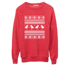 Mens Red Ugly Christmas Sweater