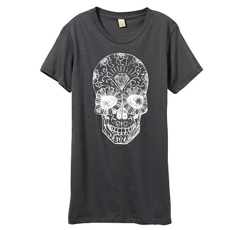 Grey Day of the Dead Shirt
