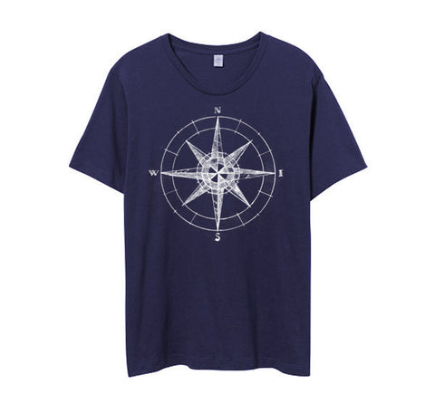 Mens Midnight Compass Tshirt