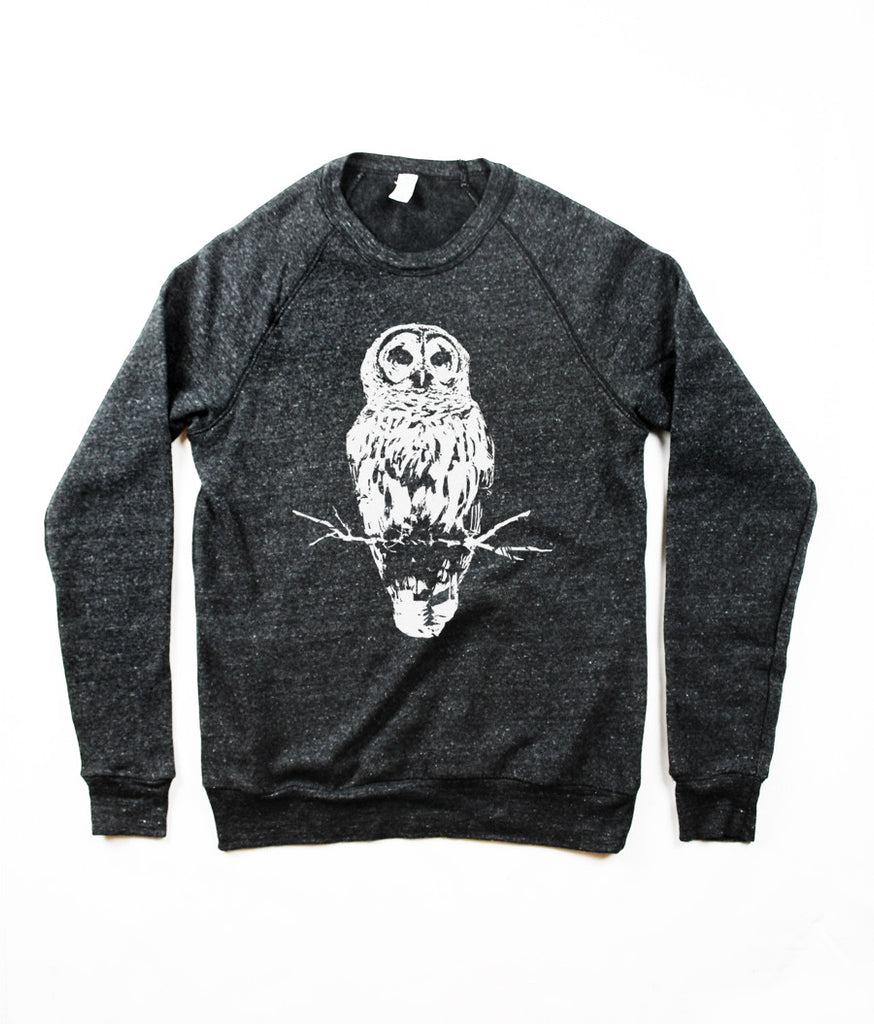 Men's Owl Sweater