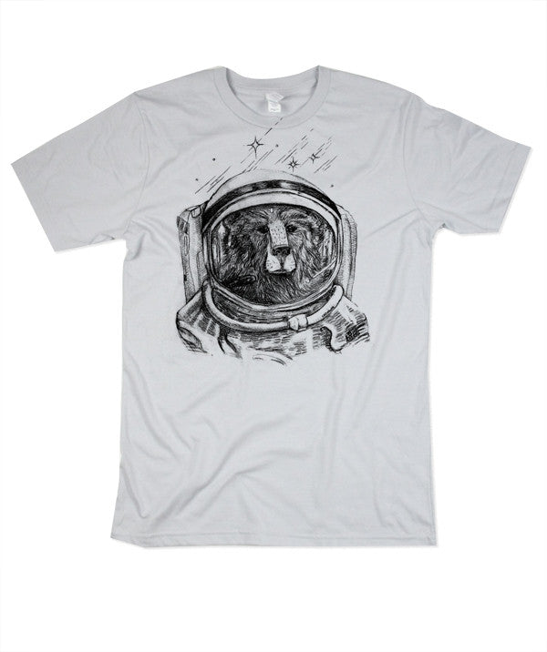 Mens Space Bear Tshirt