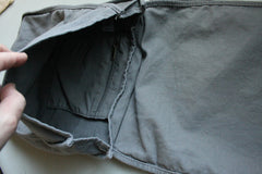 Bear Face Grey Messenger Bag