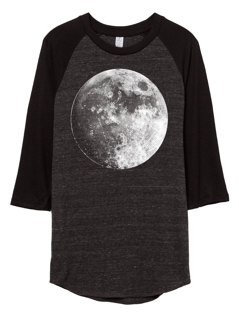 moon baseball shirt