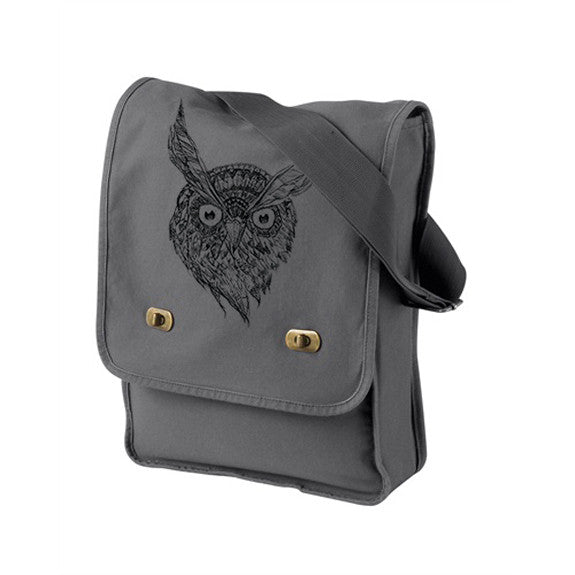 night owl messenger bag