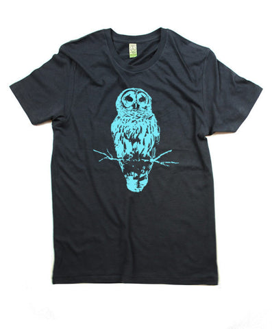 Mens Organic Blue Owl