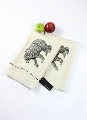 Pair of California Bear Tea Towels
