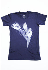 Womens Peacock Feather Shirt