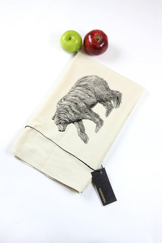 California Bear Tea Towel