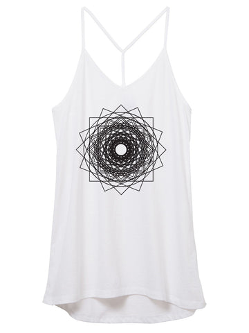 Womens Square Mandala Tank Top